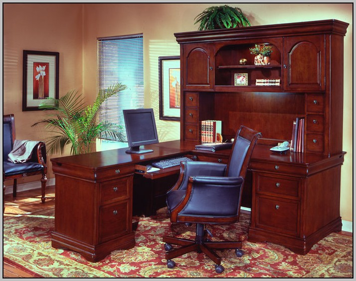 Allegro L Shaped Executive Desk And Return