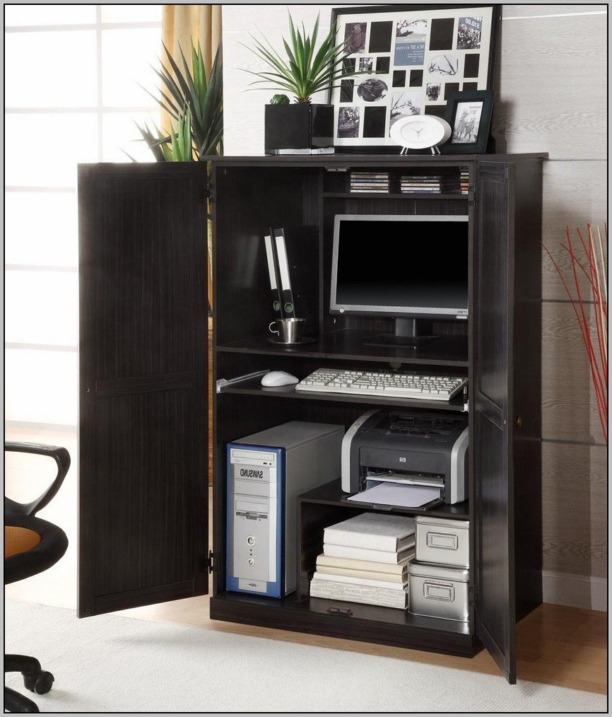 Armoire Computer Desk Ikea