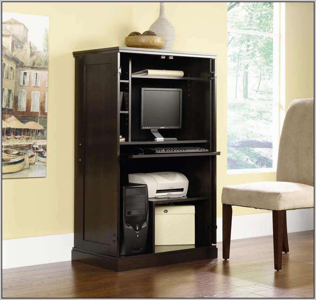 Armoire Computer Desk Plans