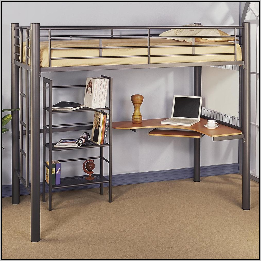 Bed And Desk Combo Ikea