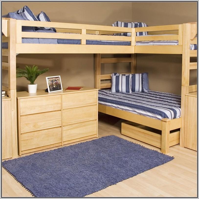 Bed Dresser Desk Combo
