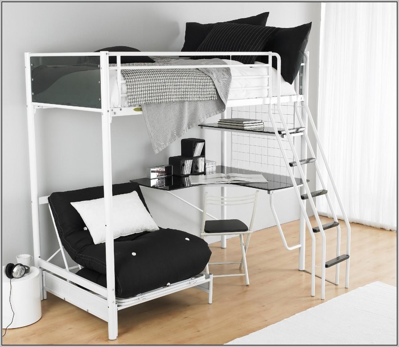 Bed With Desk Underneath Argos