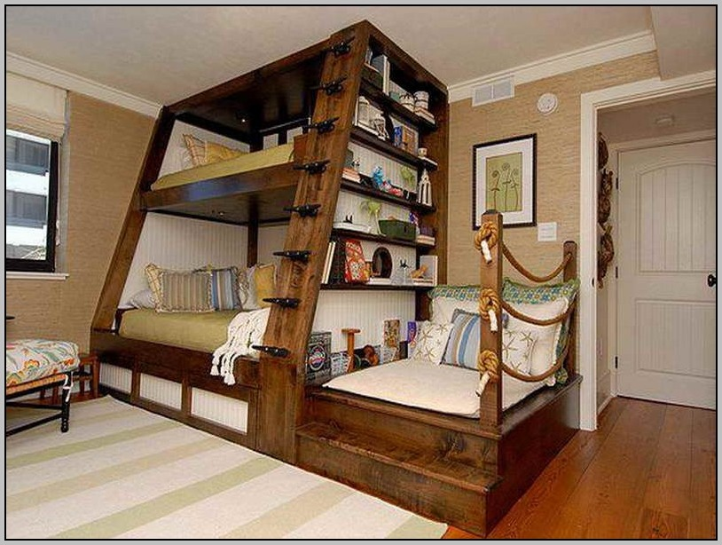Bed With Desk Underneath Uk