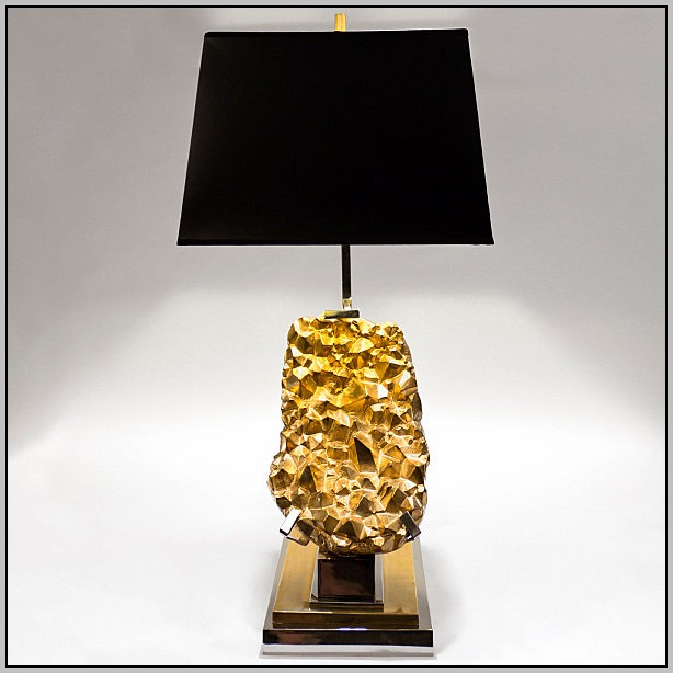 Black And Gold Desk Lamp