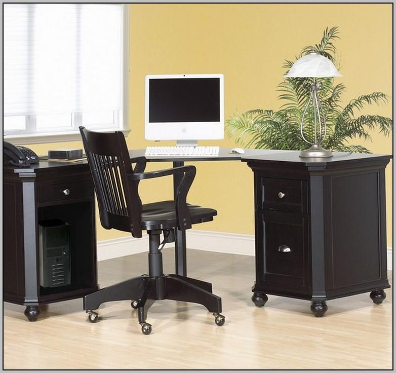 Black Corner Computer Desk Uk