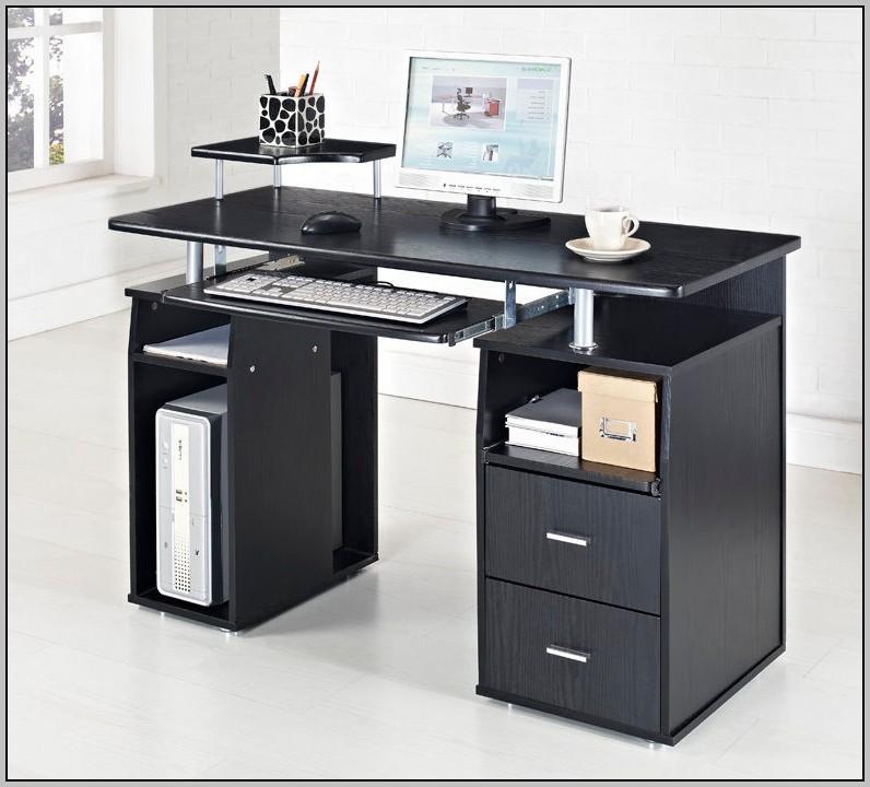 Black Glass Computer Desk Uk