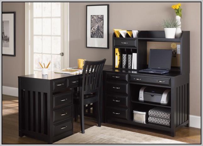 Black L Shaped Desk Furniture