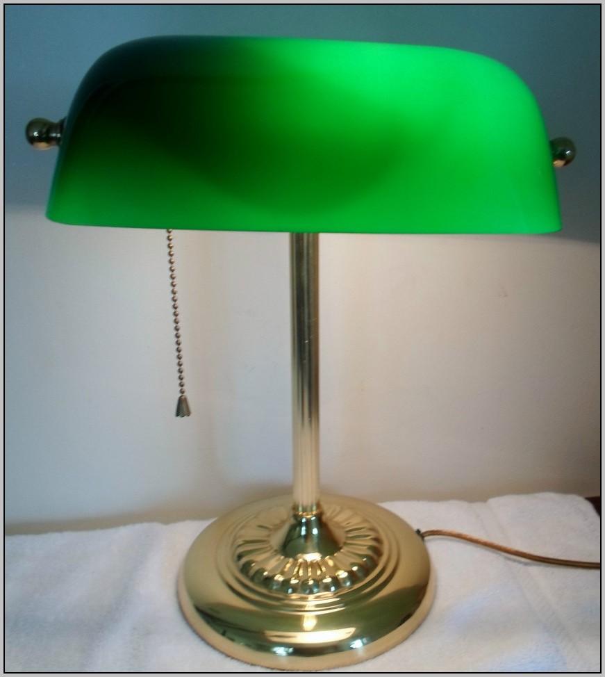 Brass Desk Lamp Shade