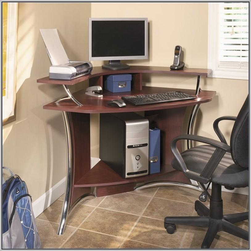 Cherry Computer Desk Corner