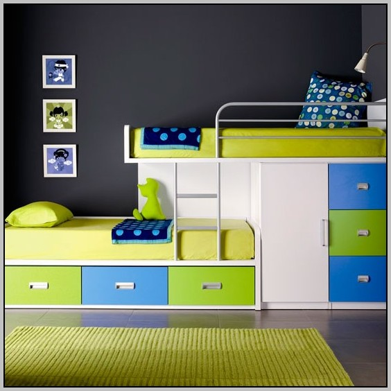 Childrens Bunk Beds With Desk Uk