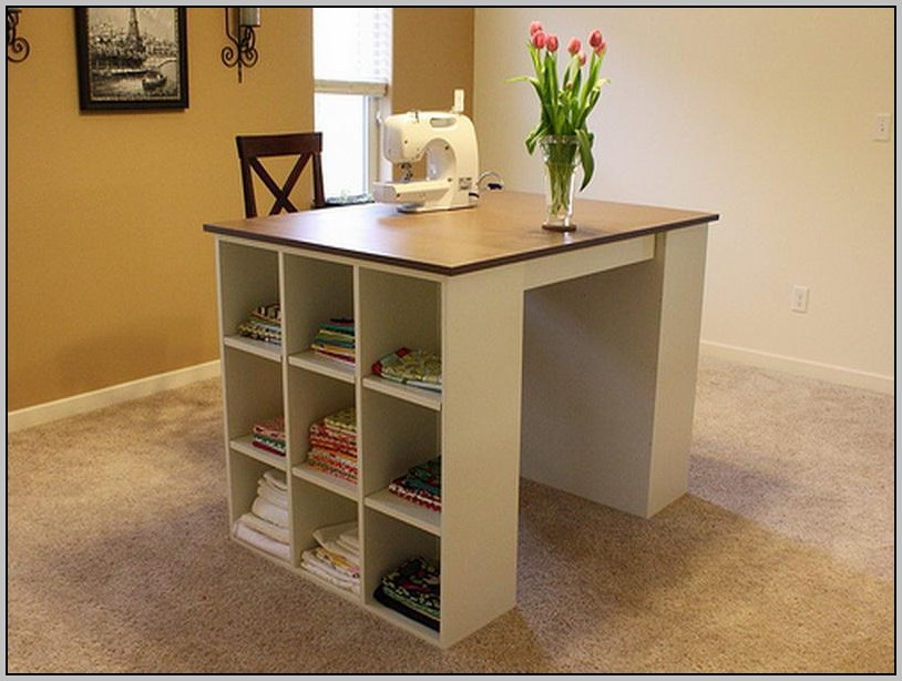 Children's Craft Desk With Storage