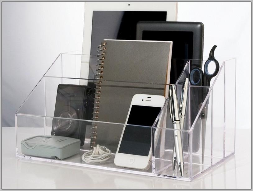 Clear Acrylic Desktop Organizer