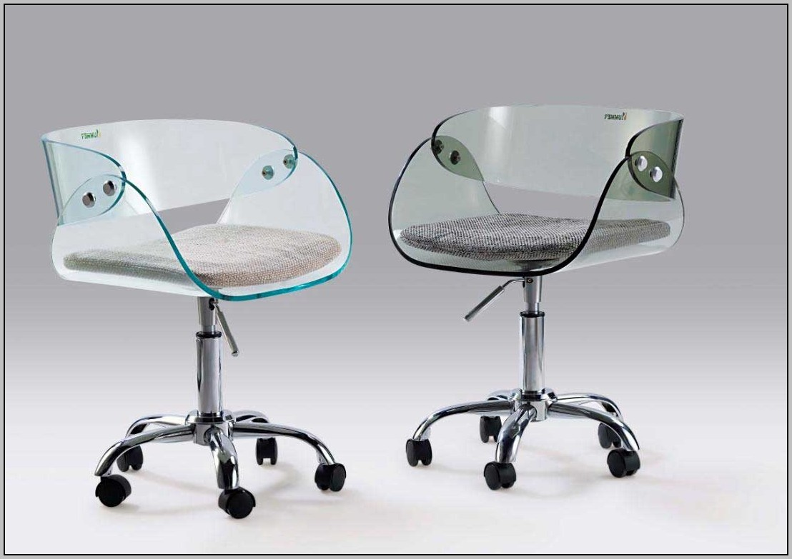 Clear Office Chair
