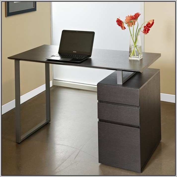 Compact Computer Desk With Drawers
