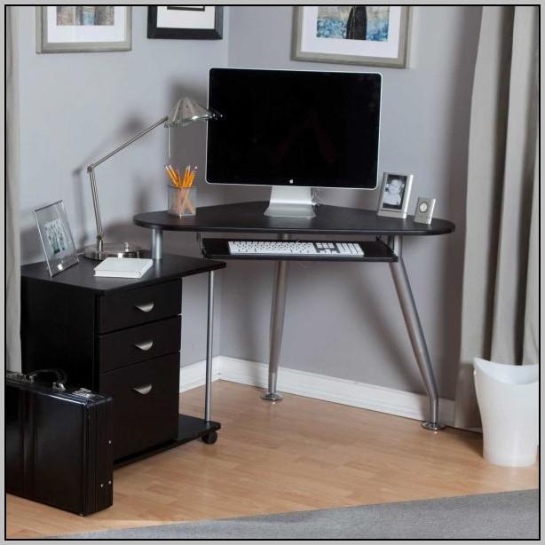 Computer Desk Armoire Black
