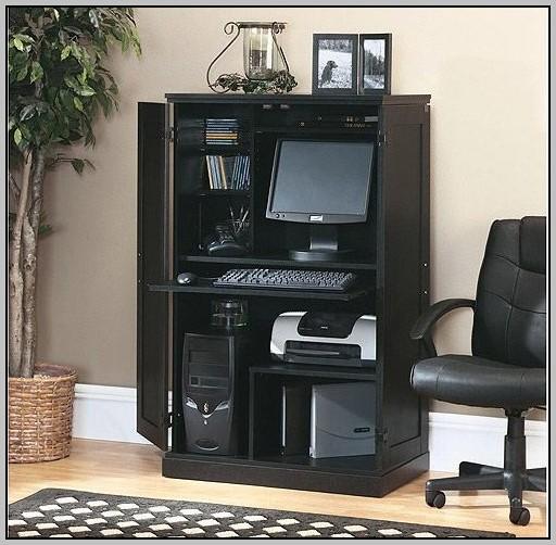 Computer Desk Armoire Sauder