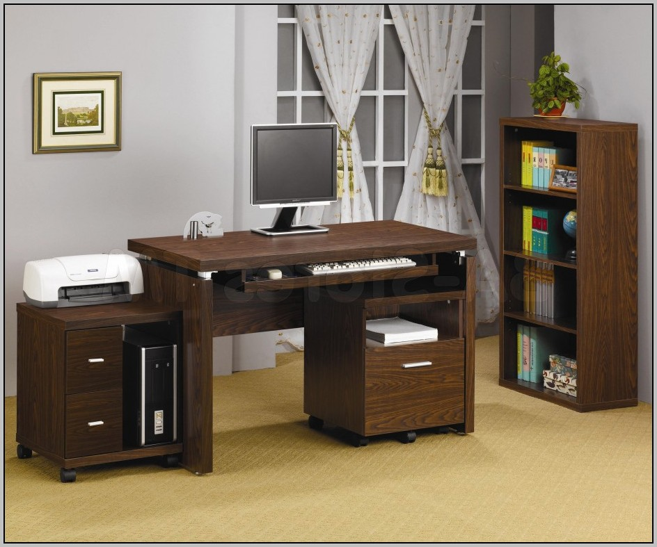 Computer Desk With Storage For Printer