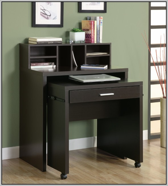 Computer Desk With Storage Space