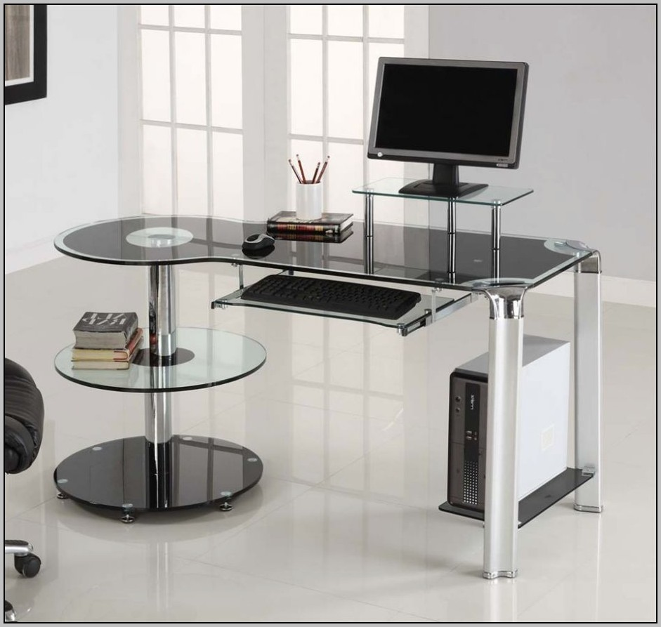Contemporary Corner Desk Home Office