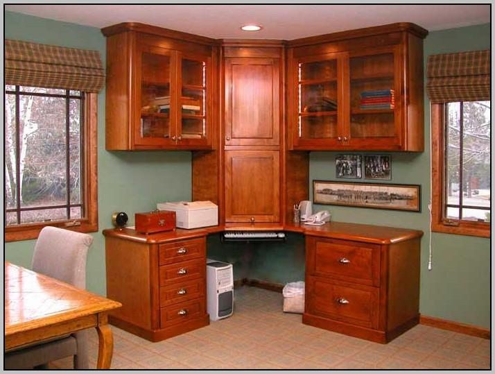 Corner Desk Building Plans