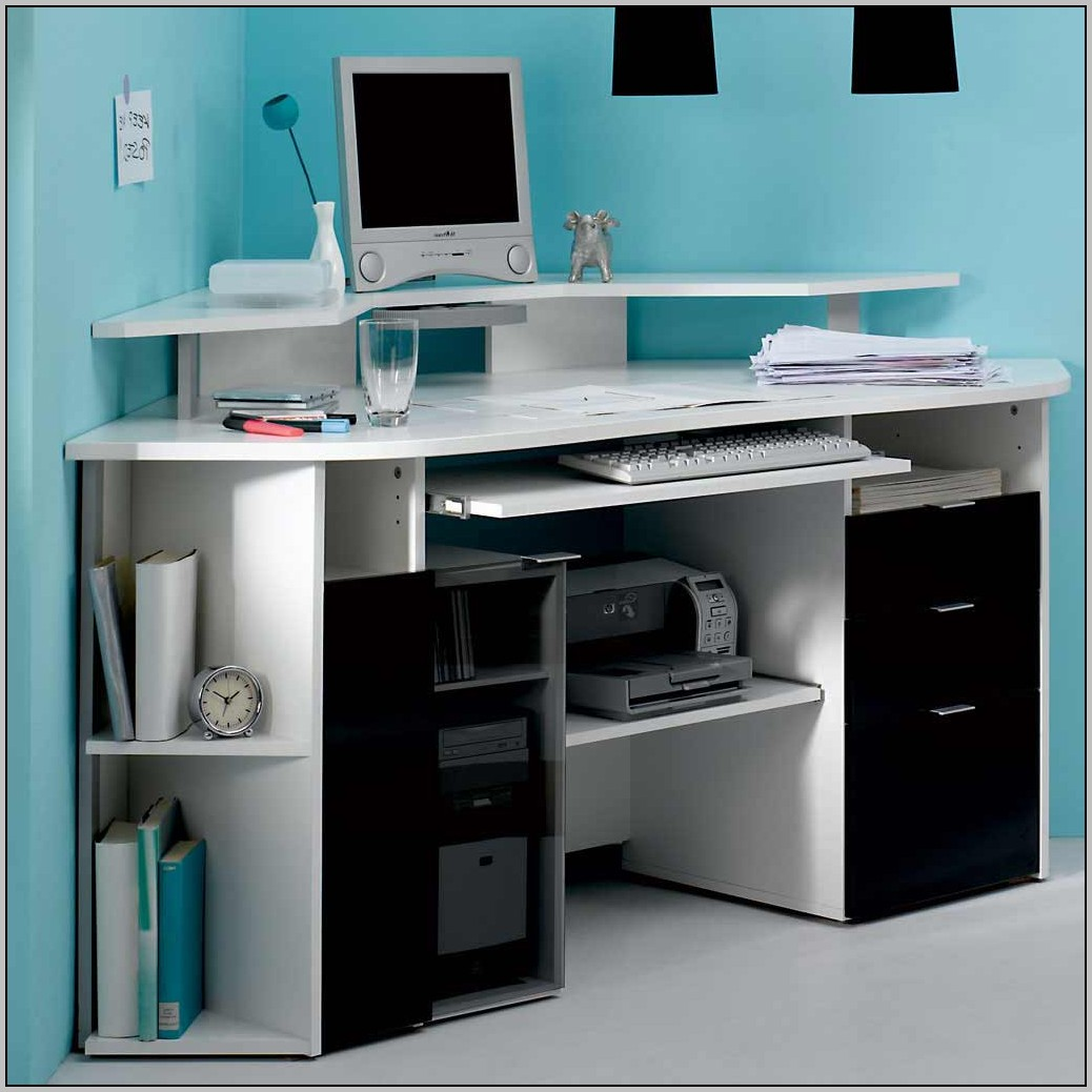 Corner Desks For Home Office Glass