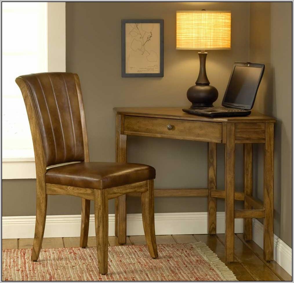 Corner Writing Desk Black