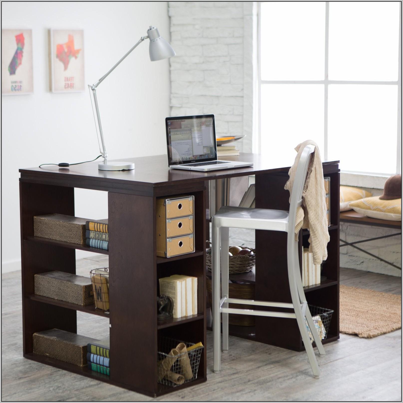 Corner Writing Desk Espresso