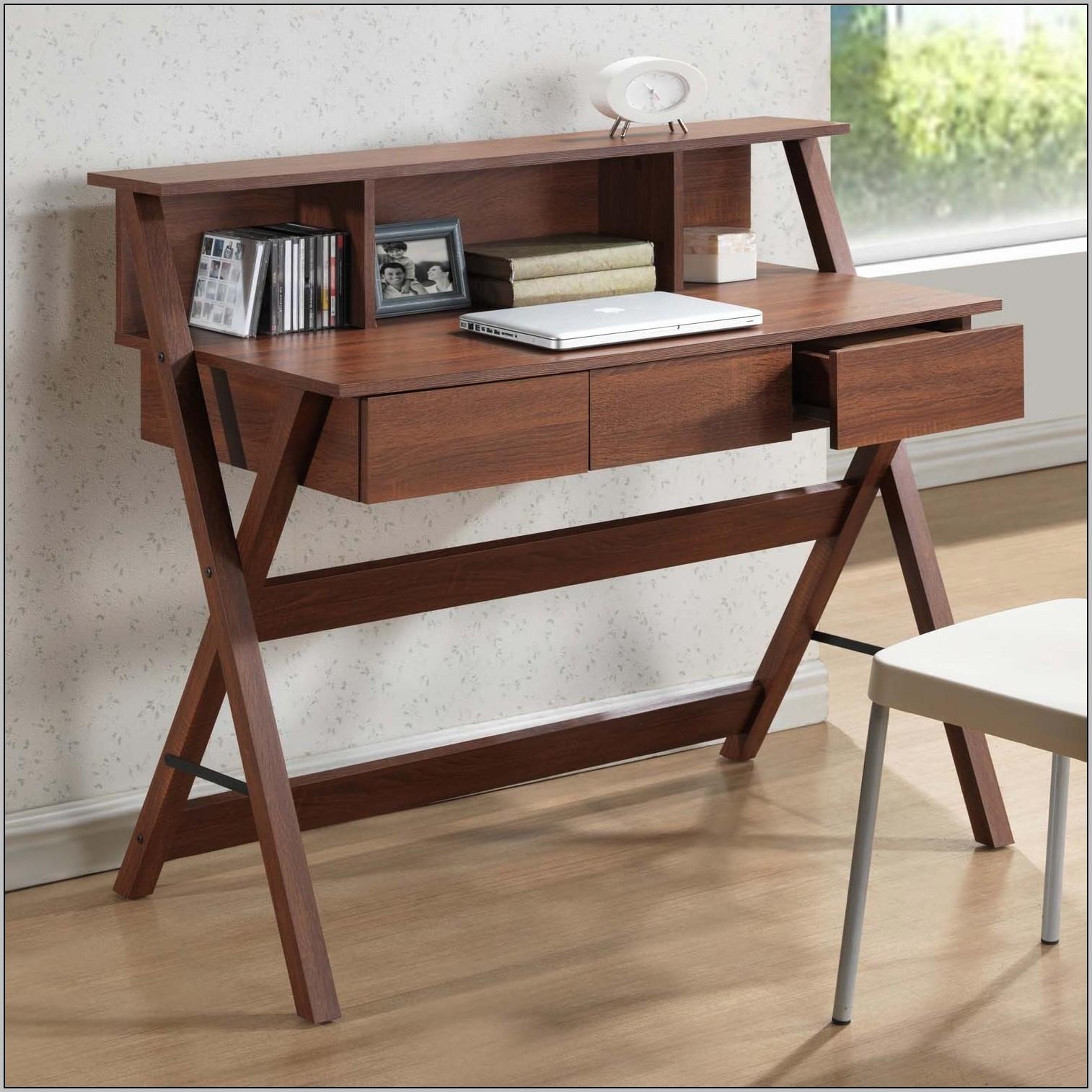 Corner Writing Desk With Hutch