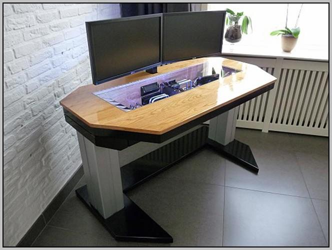 Custom Computer Desk Plans