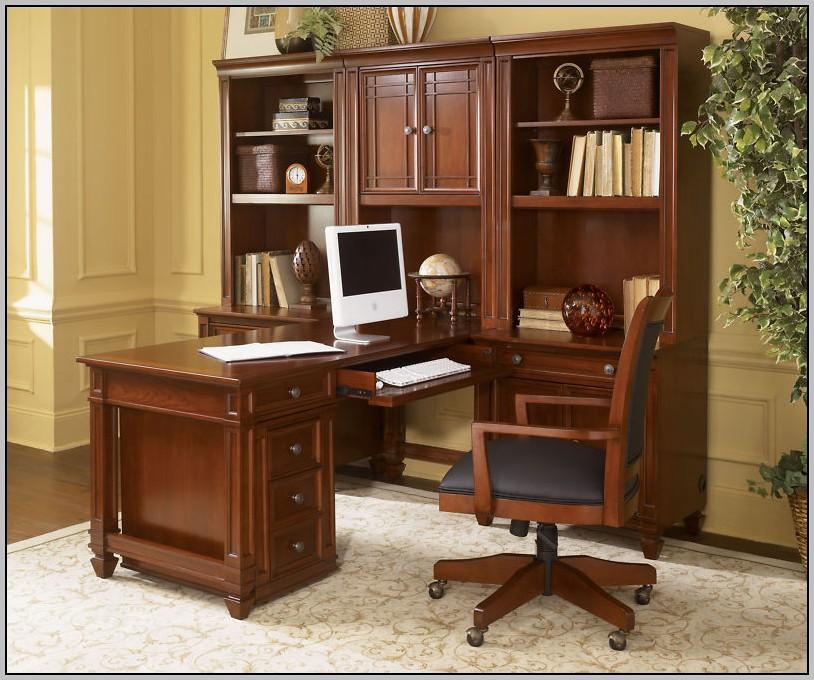 Dark Cherry Computer Desk