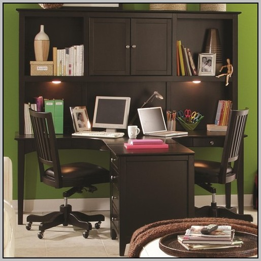 Desk And Hutch Combo