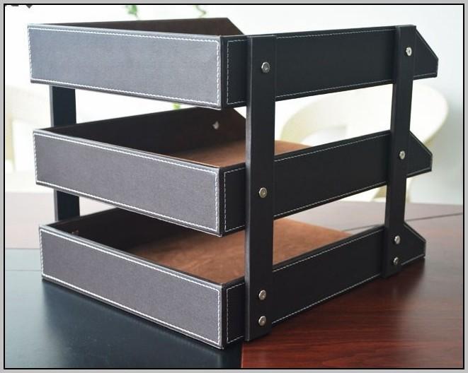 Desk File Organizer Tray