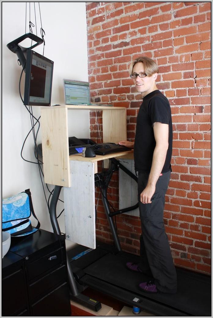 Desk Keyboard Tray Attachment