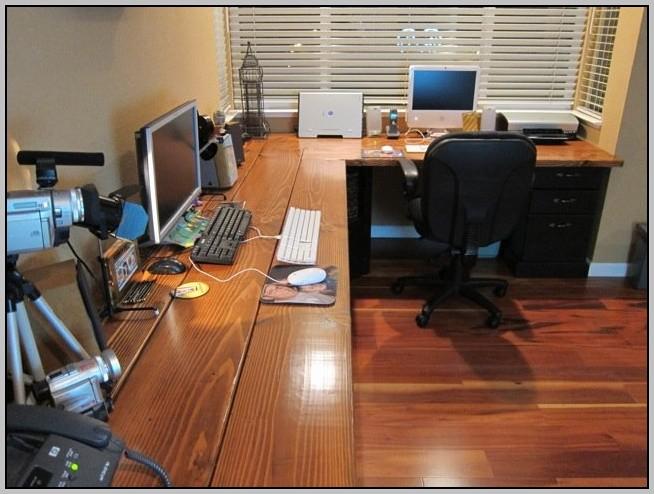 Desk Wall Unit Plans