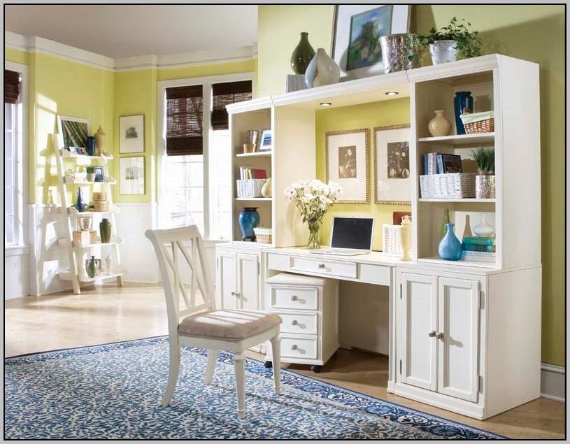 Desk Wall Unit White