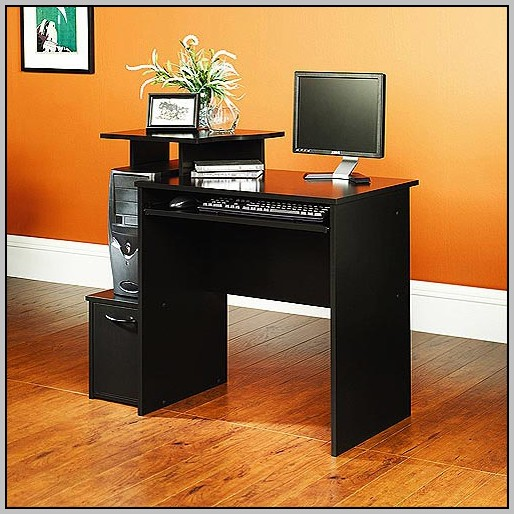 Desk With Bookshelf Walmart