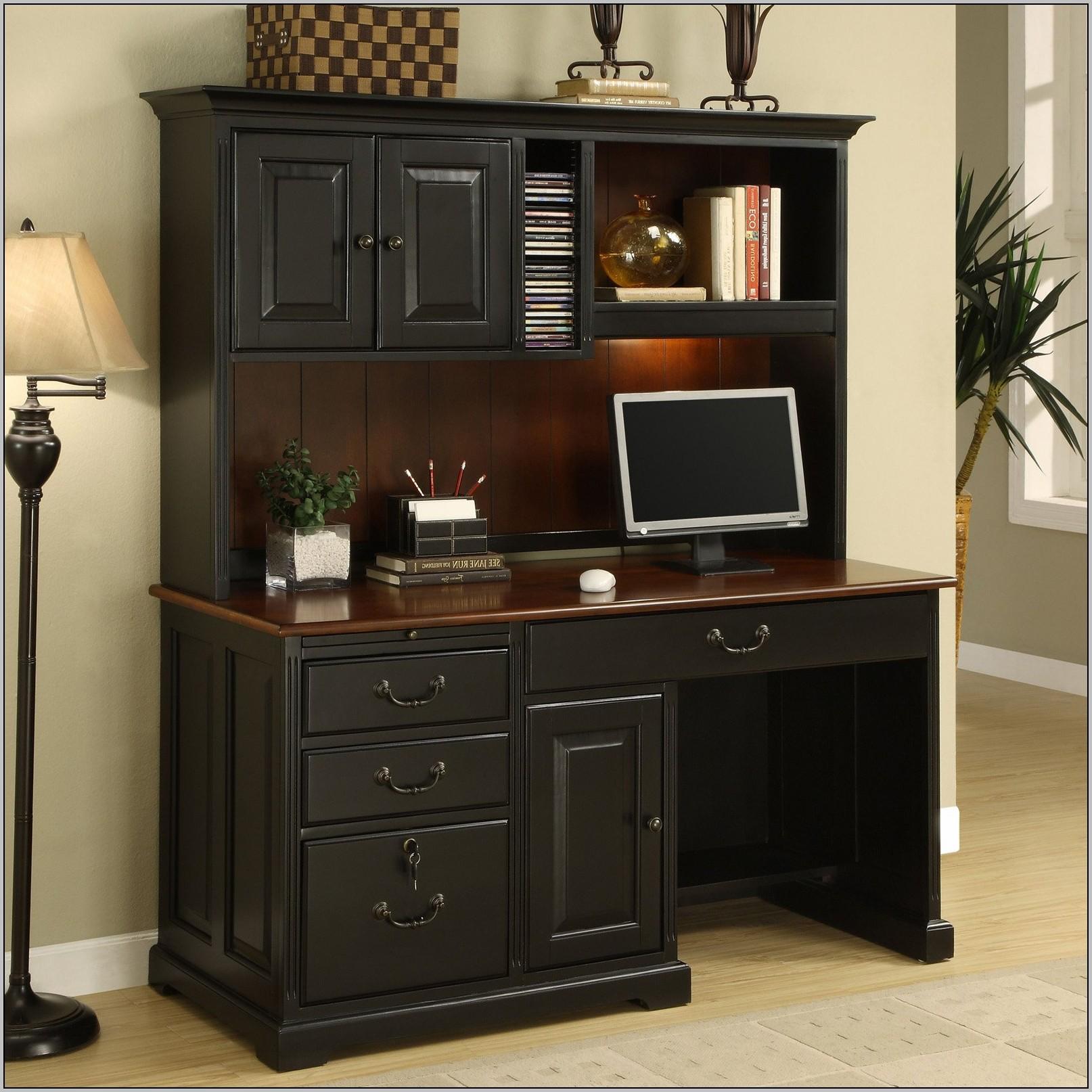 Desks With Hutches Storage