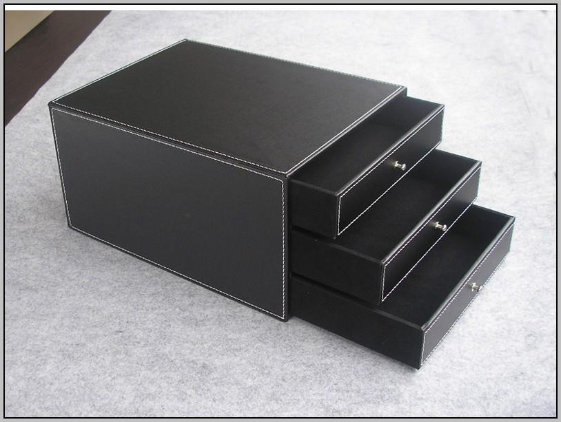 Desktop Organizer With Drawers