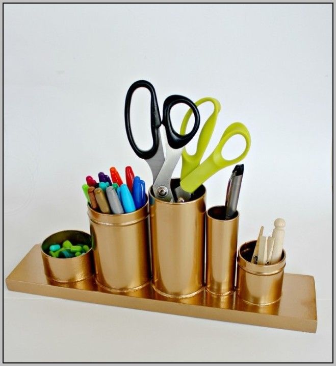 Diy Pen Holder For Desk