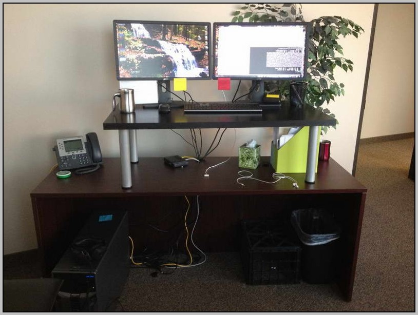 Diy Stand Up Desk Conversion