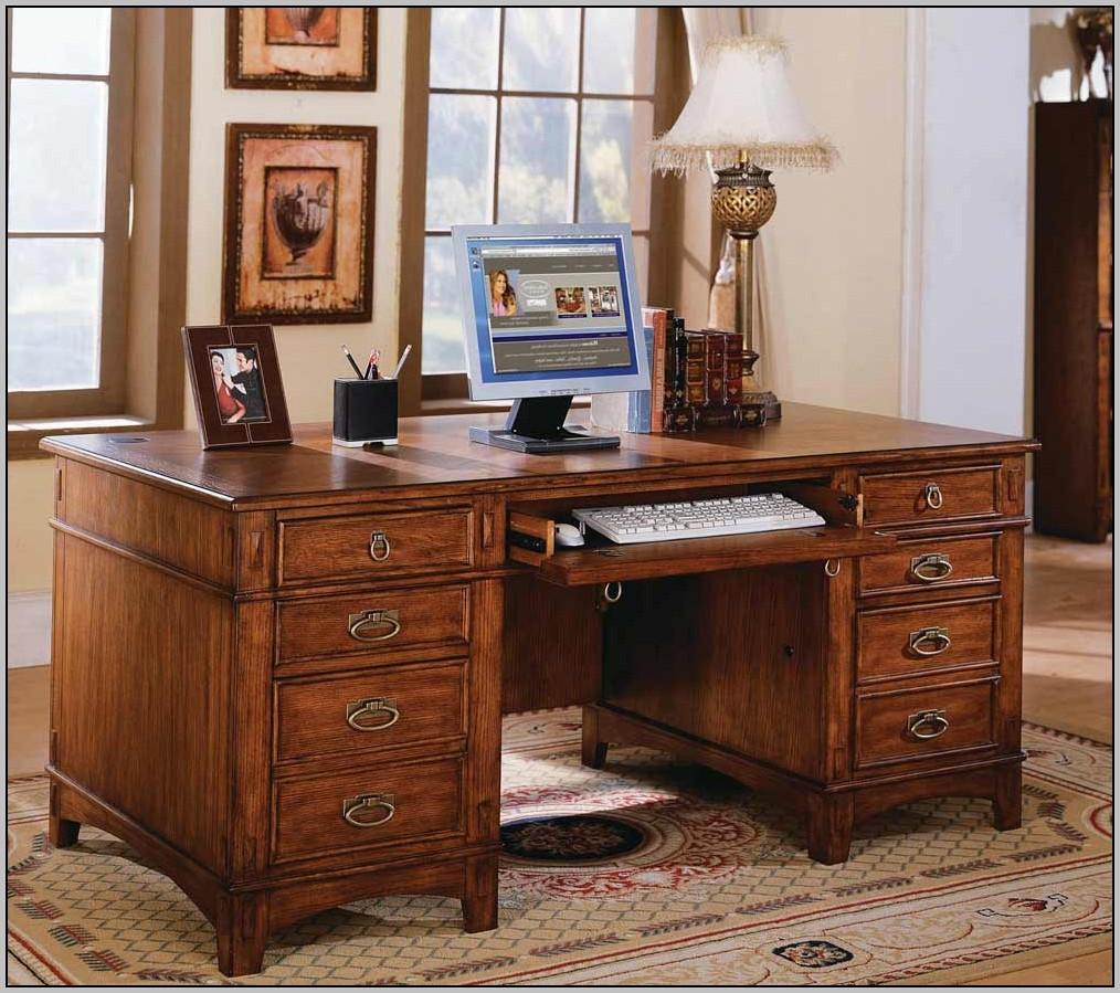 Double Pedestal Desk Furniture