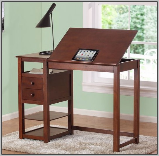 Drafting Table Desk Combination