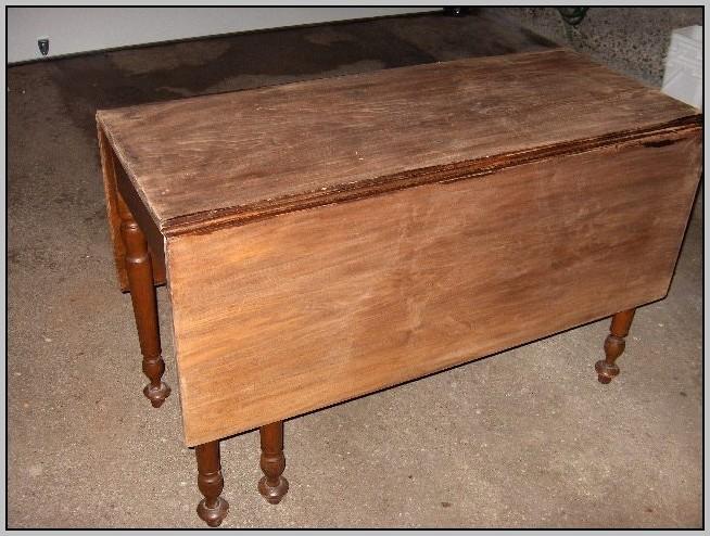 Drop Leaf Desk Antique
