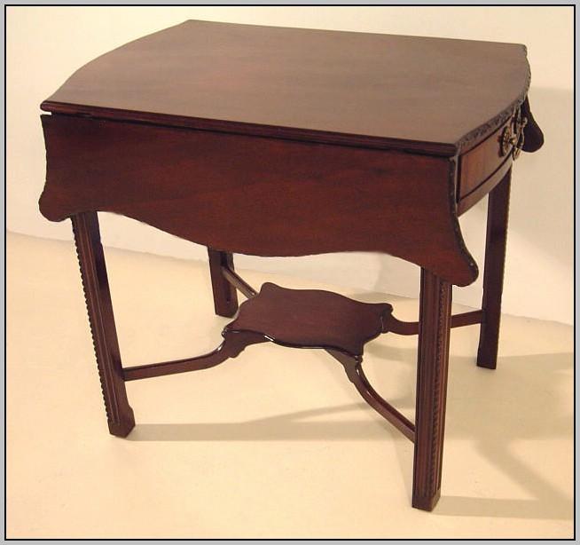 Drop Leaf Desk With Hutch