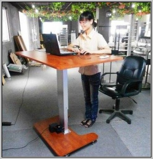 Ergonomic Computer Desk Adjustable Height