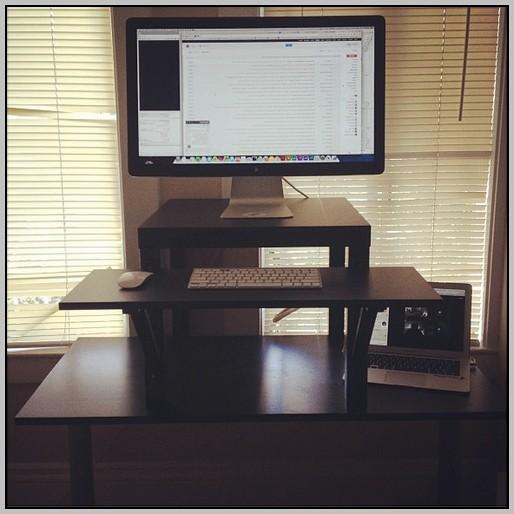 Ergonomic Desk Setup Standing