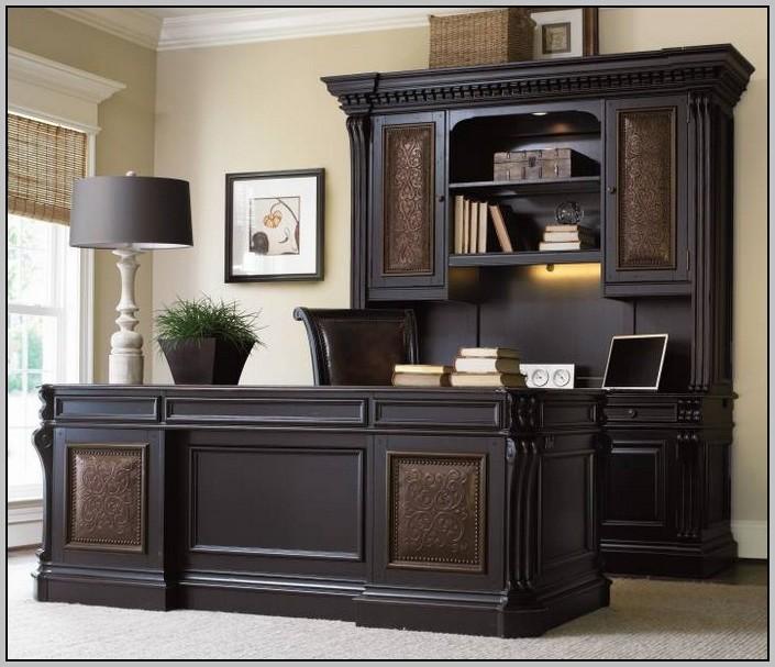 Executive Desk Set Leather
