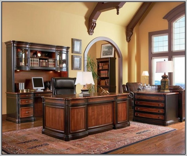 Executive Office Desk Cherry