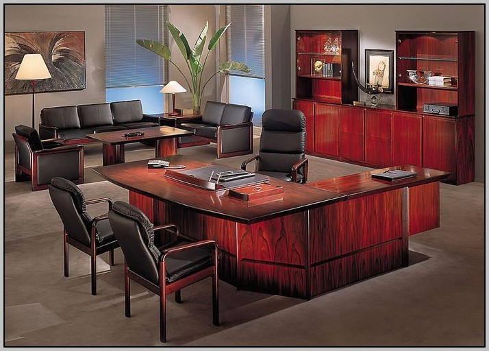 Executive Office Desk Plans