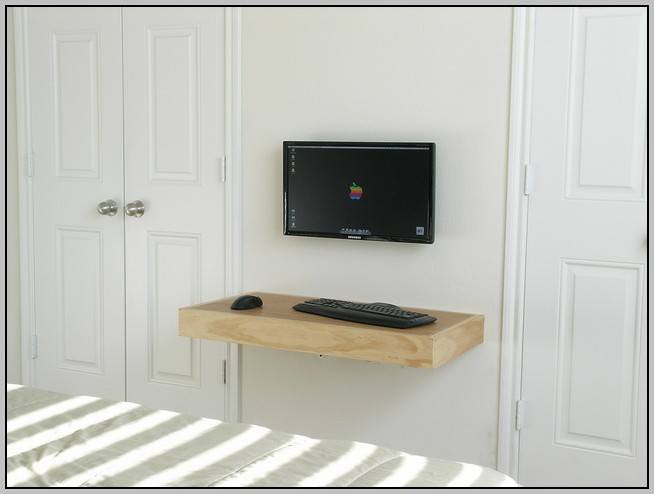 Floating Wall Desk Diy